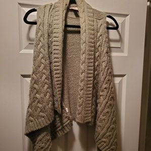 Ann Taylor Loft Asymmetrical Sweater Vest